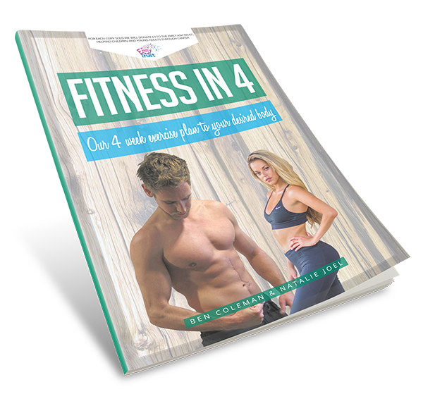 get fit for summer with the 'fitness in 4' 4 week plan!